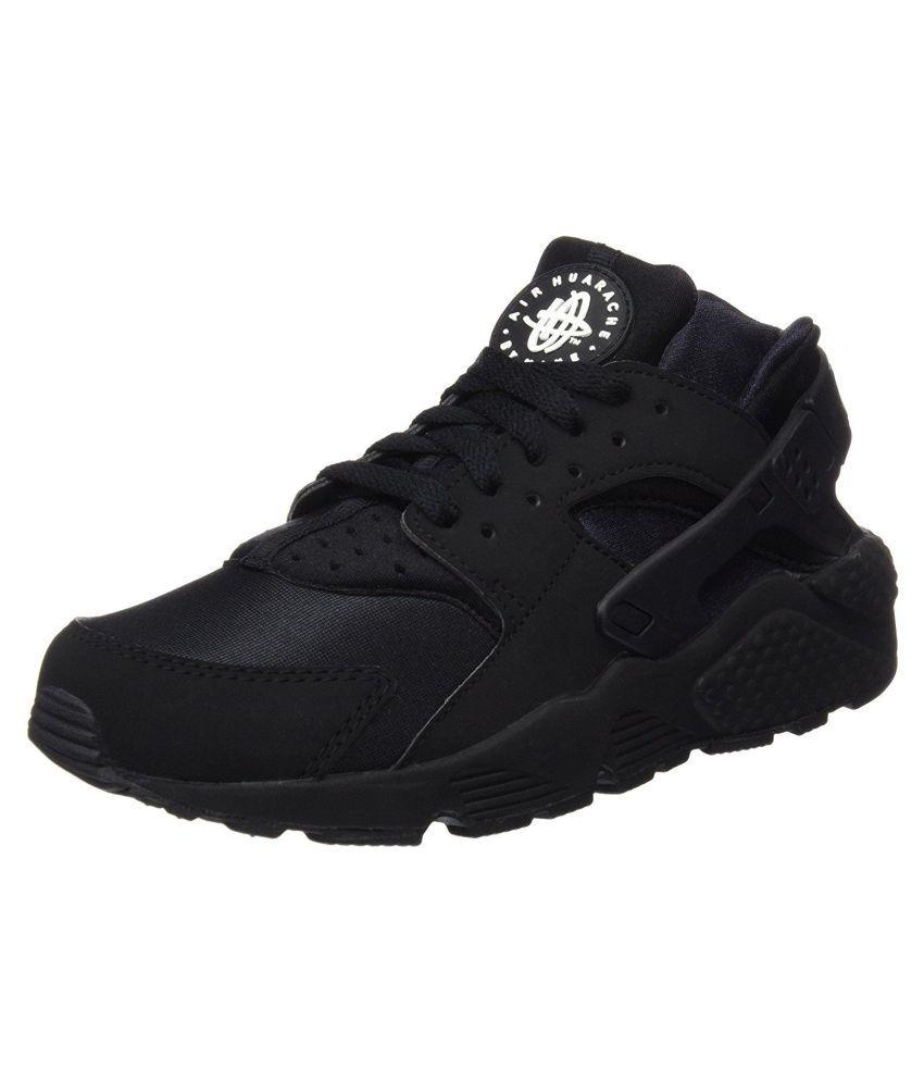 new product 55858 b7d9e Nike Air Huarache Black Running Shoes