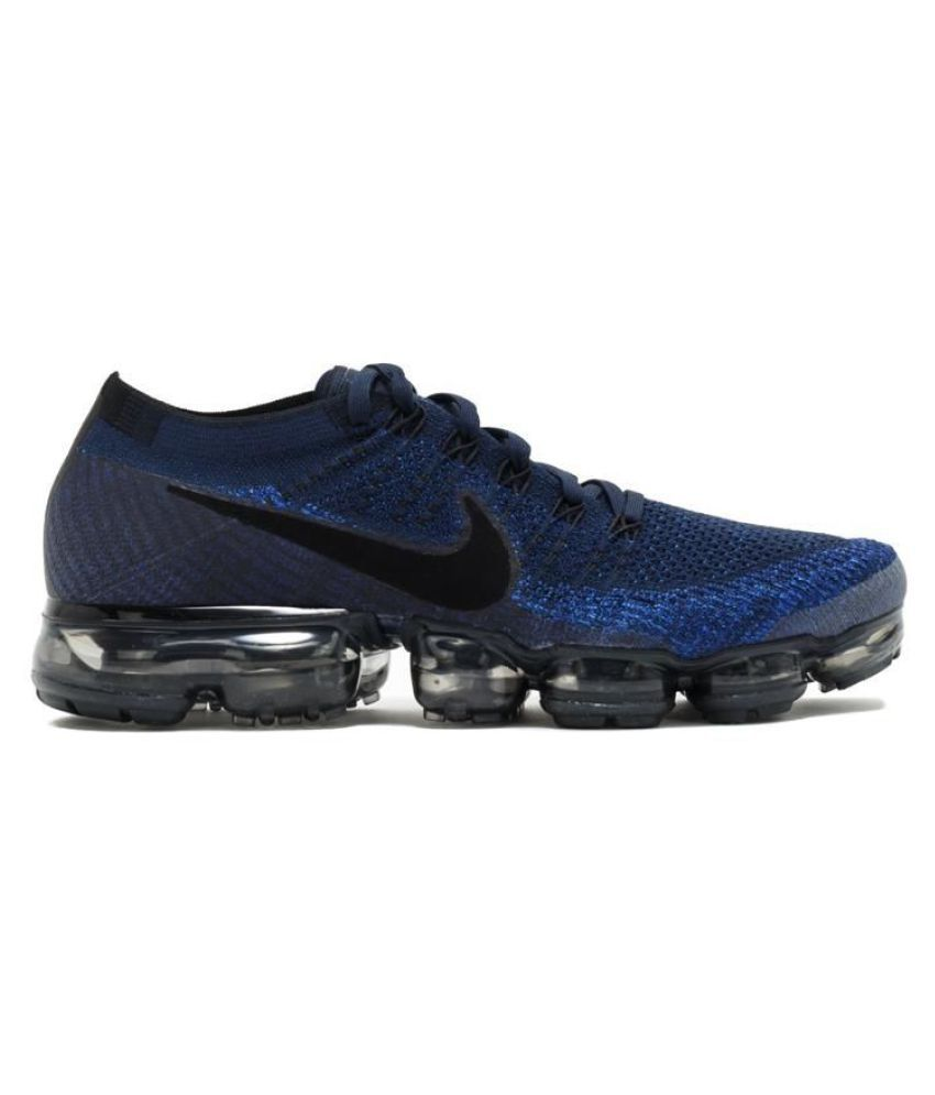 9d8b5169b0a1 Nike AIR VAPORMAX FLYKNIT Navy Running Shoes - Buy Nike AIR VAPORMAX FLYKNIT  Navy Running Shoes Online at Best Prices in India on Snapdeal