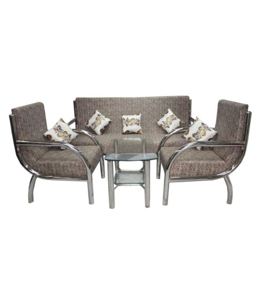 Buy STEEL SOFA SET Online At Low Price In India