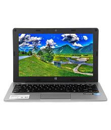 Micromax Canvas L1160 Notebook Intel Atom 2 GB 29.46cm(11.6) Windows 10 Home without MS Office Integrated Graphics Silver