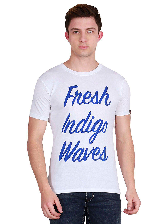 Fashion Stop White Round T-Shirt
