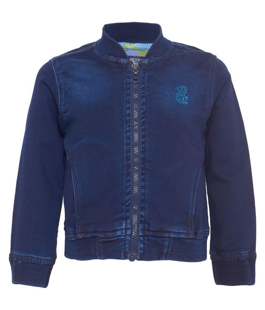 Tales & Stories Baby Girls Blue Denim Jacket