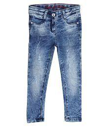 Tales & Stories Girls Dark Blue Jeans
