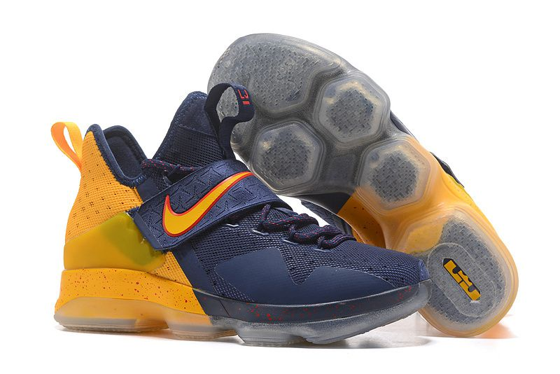 b67514f8cdeb Nike leBron 14 Navy Basketball Shoes - Buy Nike leBron 14 Navy Basketball  Shoes Online at Best Prices in India on Snapdeal