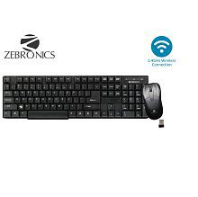 Zebronics Companion6 Wireless Keyboard & Mouse Combo (USB Dongle inside Mouse Top Cover)