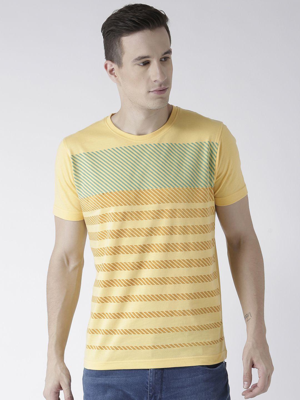 Club York Yellow Round T-Shirt