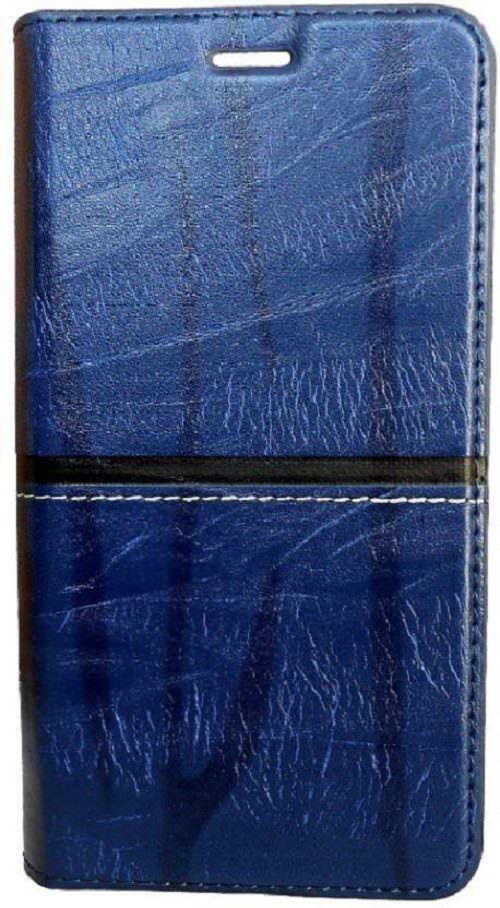 Samsung Galaxy J5 Prime Flip Cover by Doyen Creations - Blue Richboss