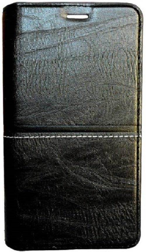 Xiaomi Redmi Note 5 Flip Cover by Doyen Creations - Black Richboss