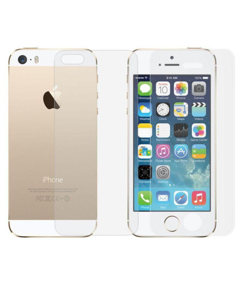 Apple iPhone 5 Tempered Glass Screen Guard By Tecozo