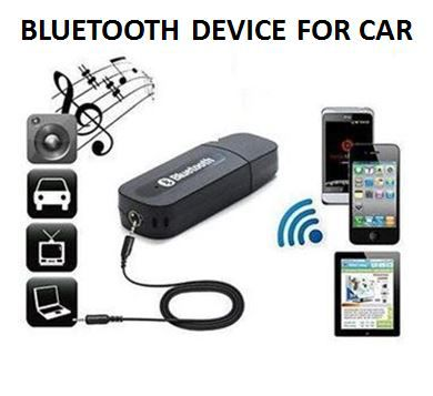 car bluetooth receiver usb pair with car stereo music system rh snapdeal com