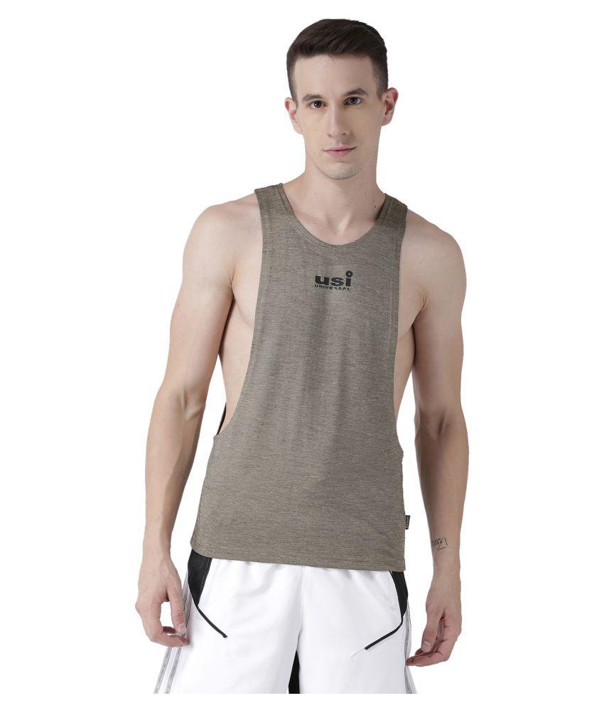 USI Universal Beige Gym Vest