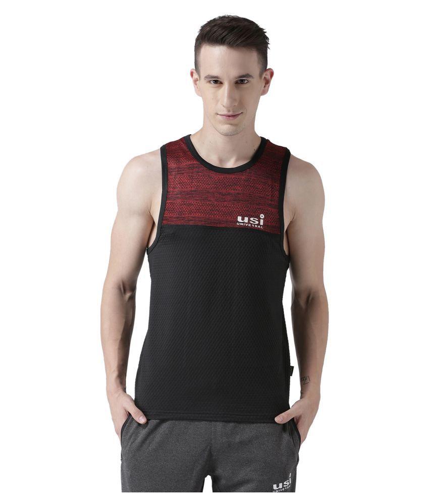 USI Universal Red Training T-Shirt
