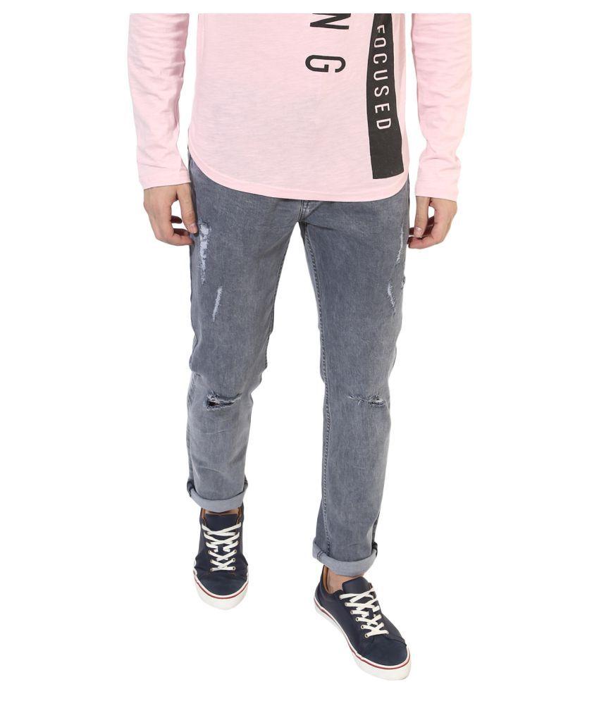 Realm Grey Slim Jeans