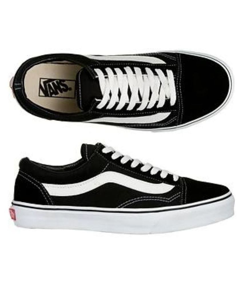 Vans Shoes Buy Black Old Skool Casual CScrFCq