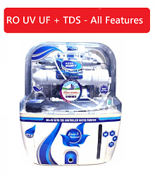 Aquagrand AQUA SWIFT RO+UF+UV+MINERAL+TDS CONTROLLER 10 Ltr ROUVUF Water Purifier