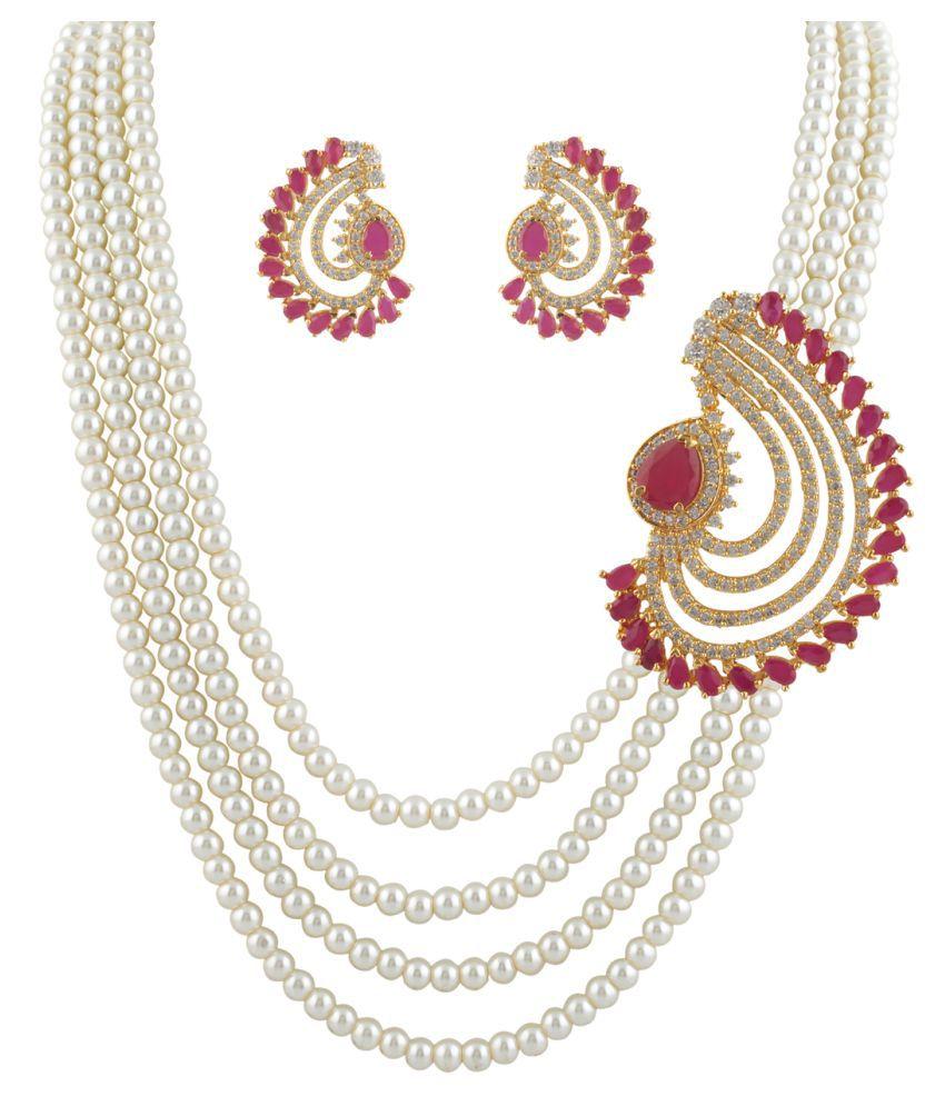 ClassiqueDesigner Beautifully Designed Pearl Set (cp1328)