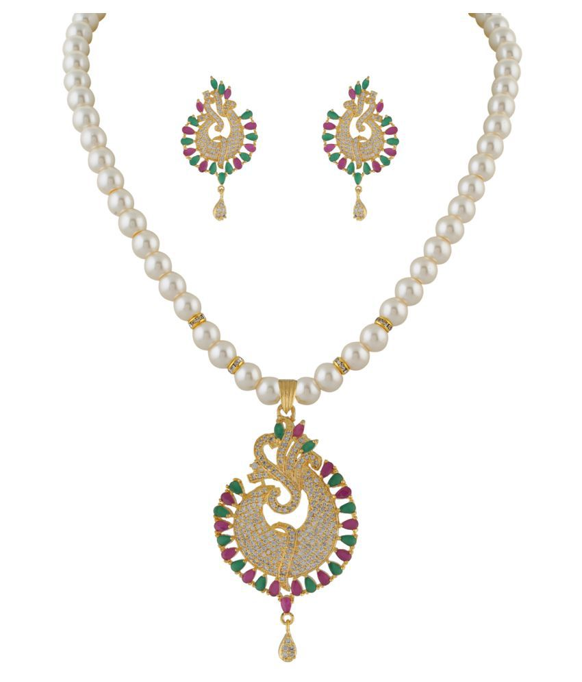 ClassiqueDesigner Shell Shape Pearl Set (cp1331)