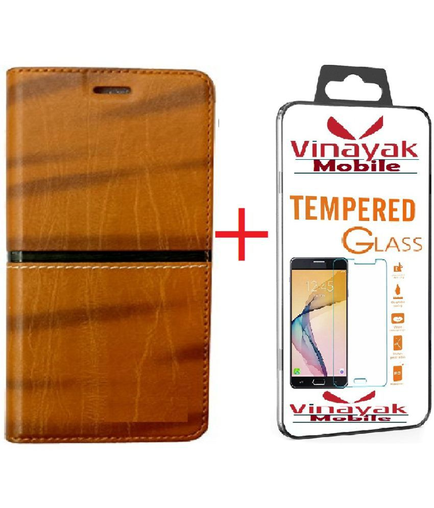 best website 51013 d47e9 Xiaomi Redmi Note 5 Pro Cover Combo by VinyakMobile RICH BOSS Flip Cover  With Tempered Glass