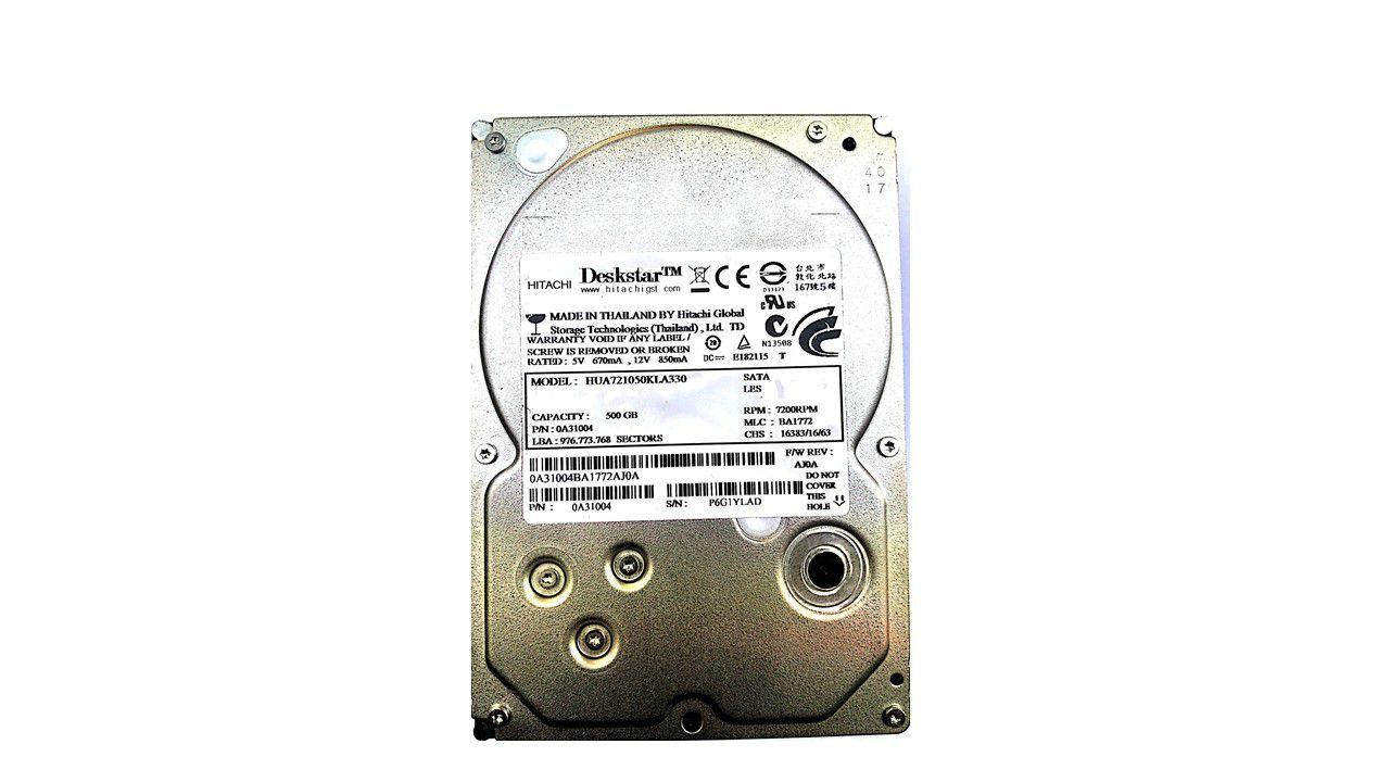 Hitachi HUA721050KLA330 500 GB Internal Hard Drive Internal Hard drive