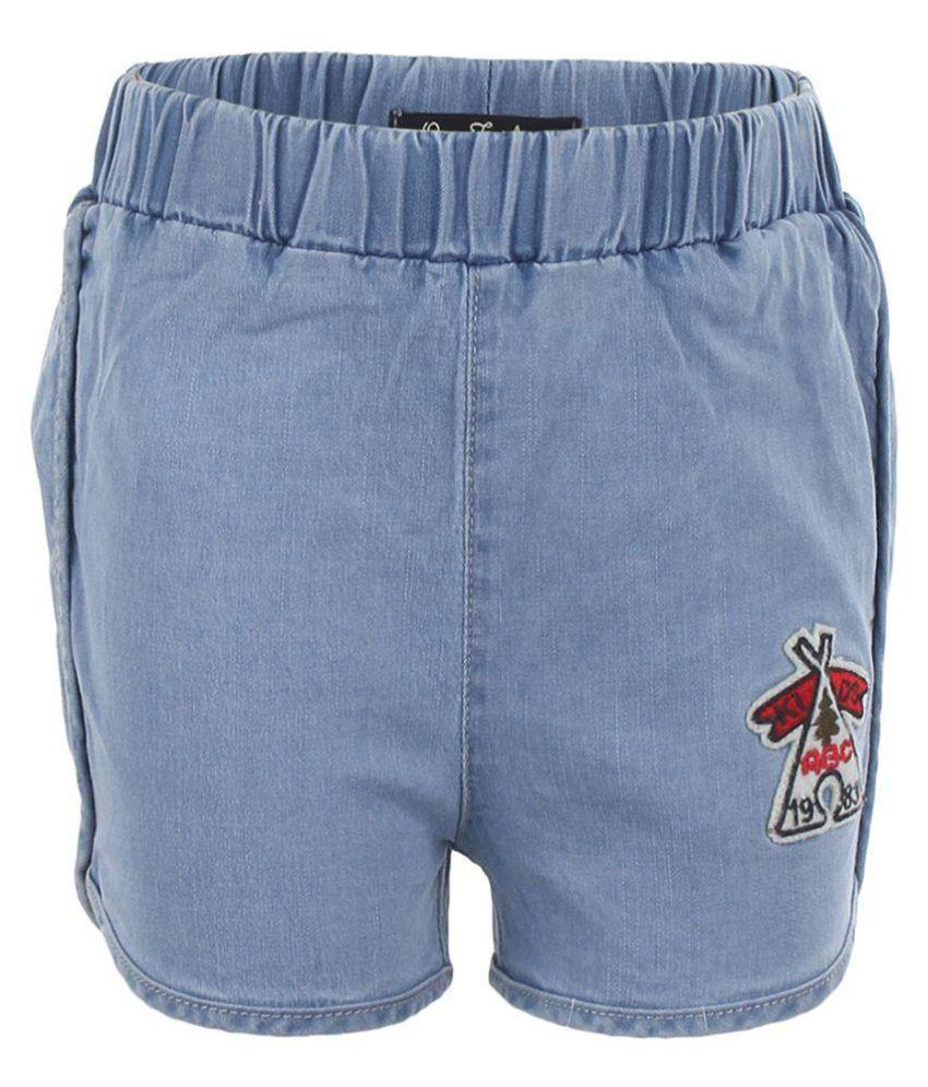 One Friday Girls Soft Cotton Shorts