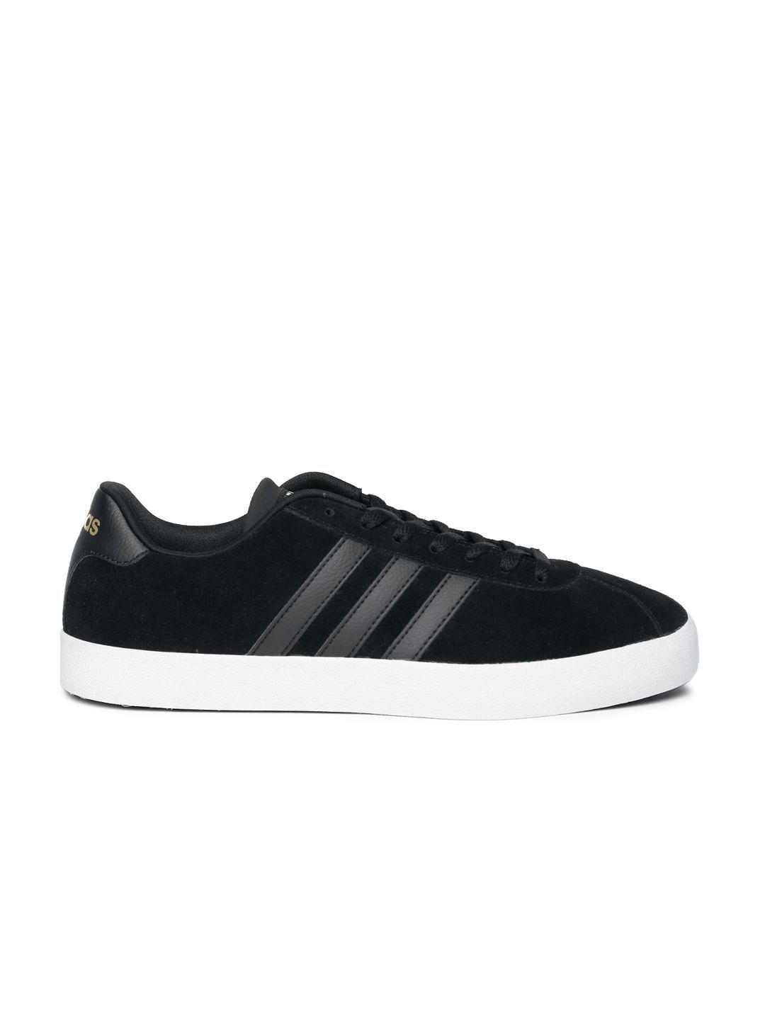 release info on best price large discount Adidas NEO Men Vlcourt Vulc Sneakers Black Casual Shoes