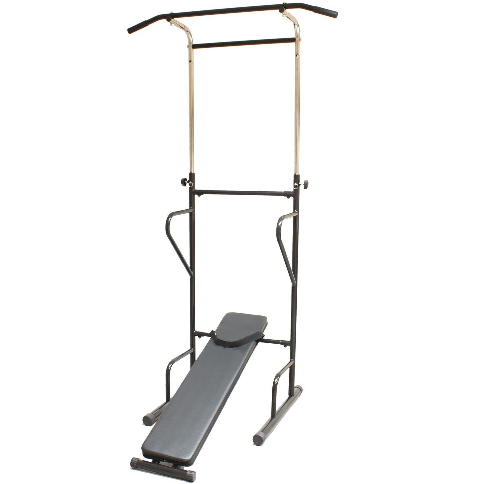 Expander & Widerstandsbänder New Multi Function Pull Up Dip Station for Indoor Home Gym Strength Training