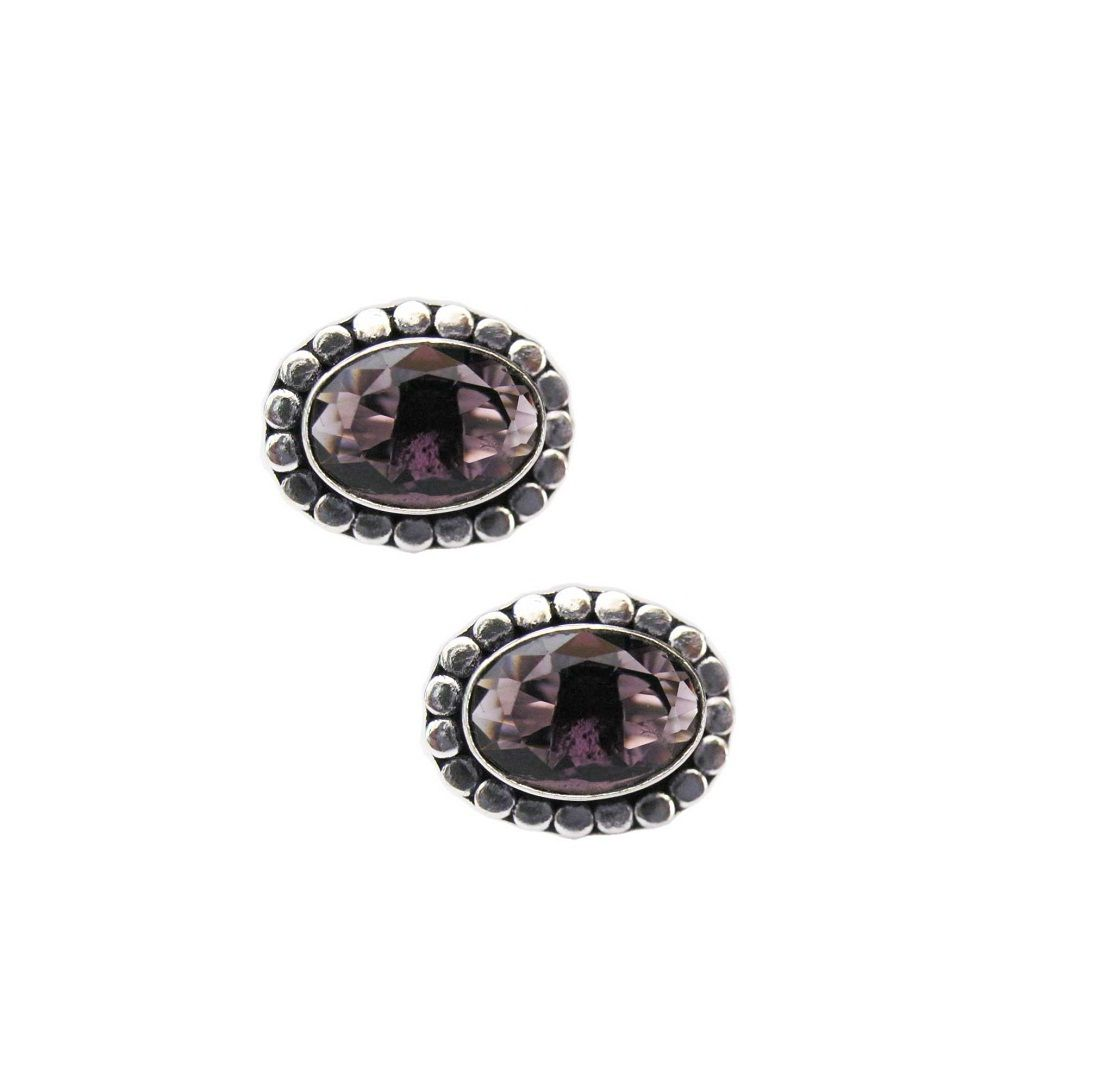 Vinayak Royal Antique cufflinks purple amethyst