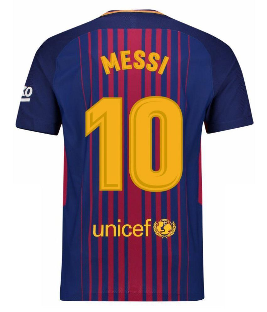 0dcbb82cdd5 FC Barcelona Jersey (Messi) - Buy FC Barcelona Jersey (Messi) Online at Low  Price in India - Snapdeal