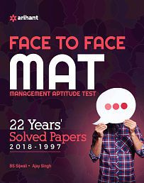 Face To Face MAT 22 Years Solved Papers