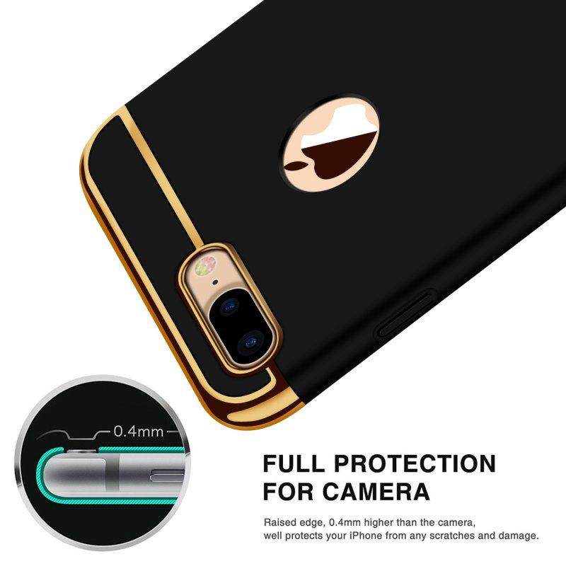 Apple iPhone 7 Plus Shock Proof Case Avzax - Black