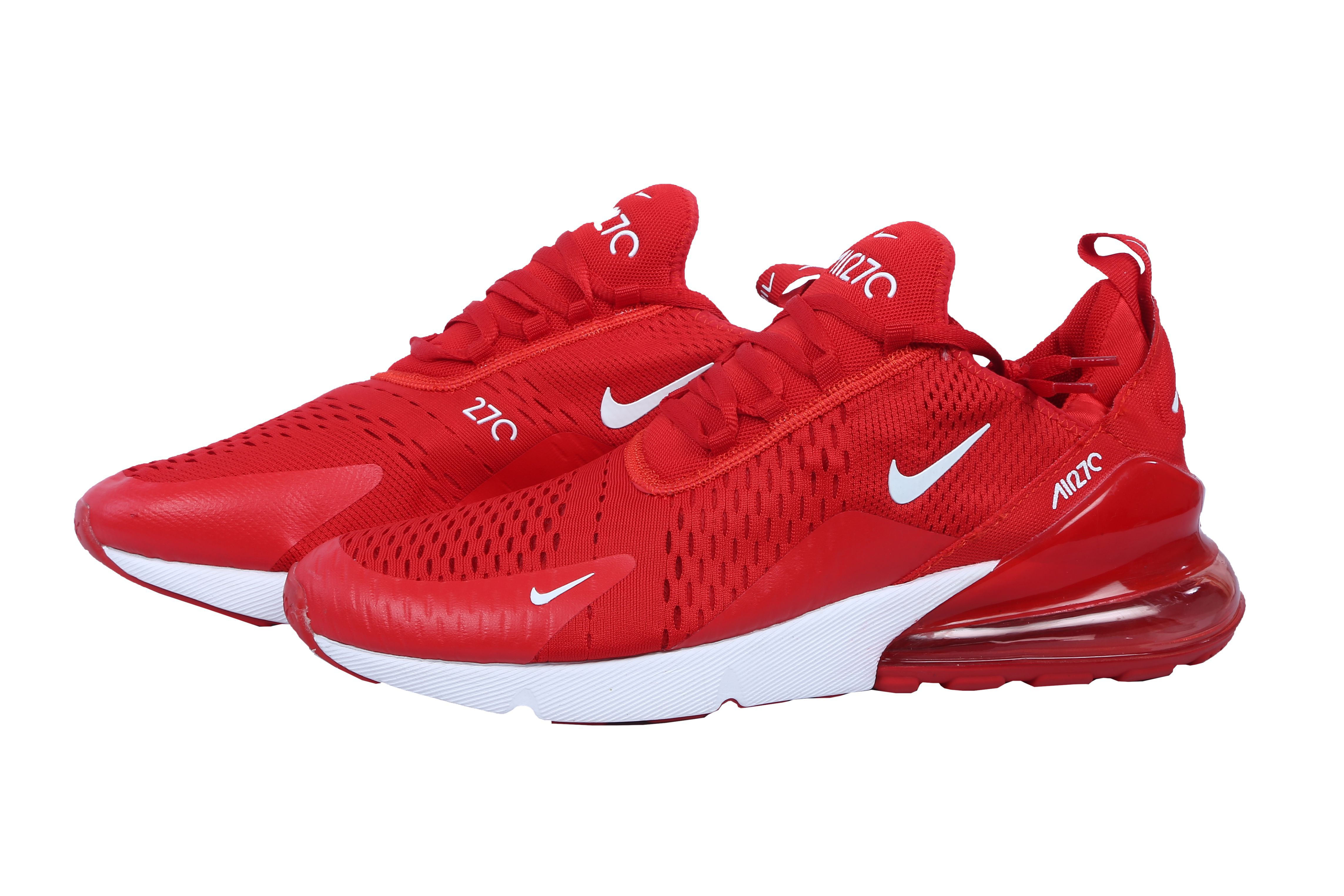 Nike Air Max 270 Red Running Shoes