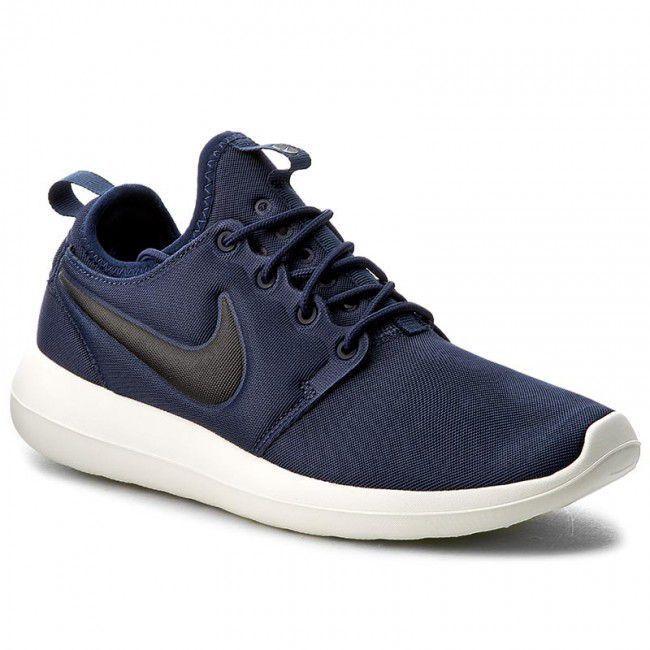 online retailer fb8ac d2635 Nike Roshe two Blue Running Shoes