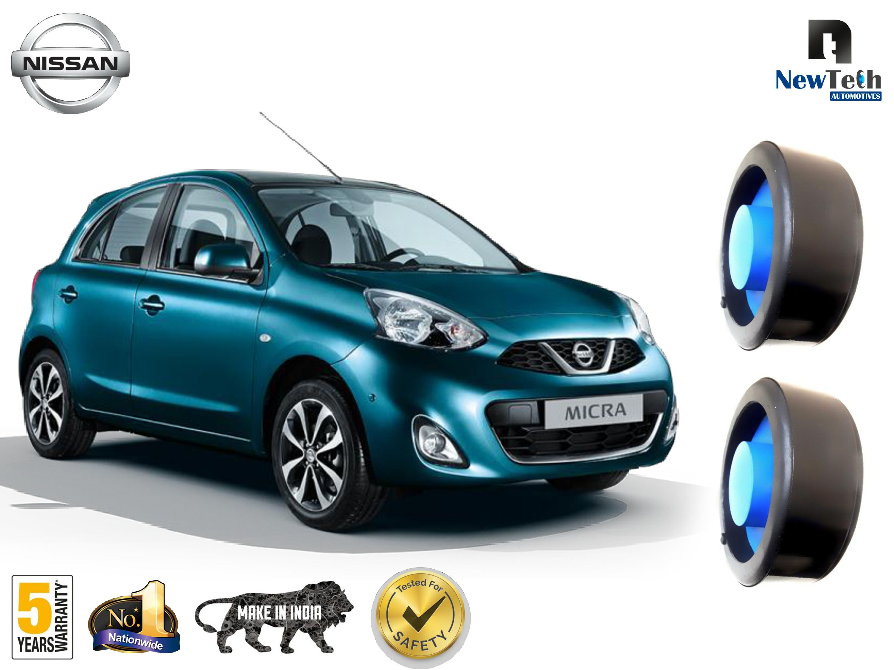Nissan Micra and Micra Active Ground Clearance Kit Fits