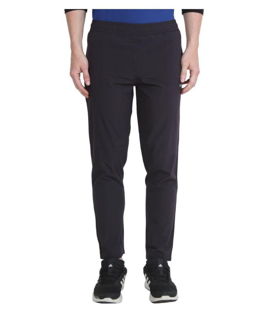 Nike Black Polyester Track Pant for Sports