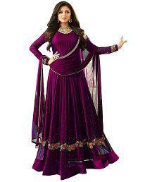 83c1c15515 Purple Salwar Suits: Buy Purple Salwar Kameez Online at Low Prices ...
