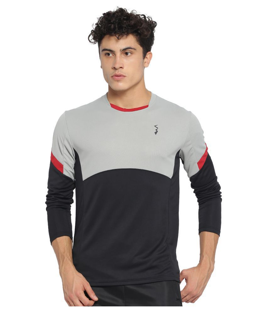 CampusSutra Multi Polyester Jersey Single Pack