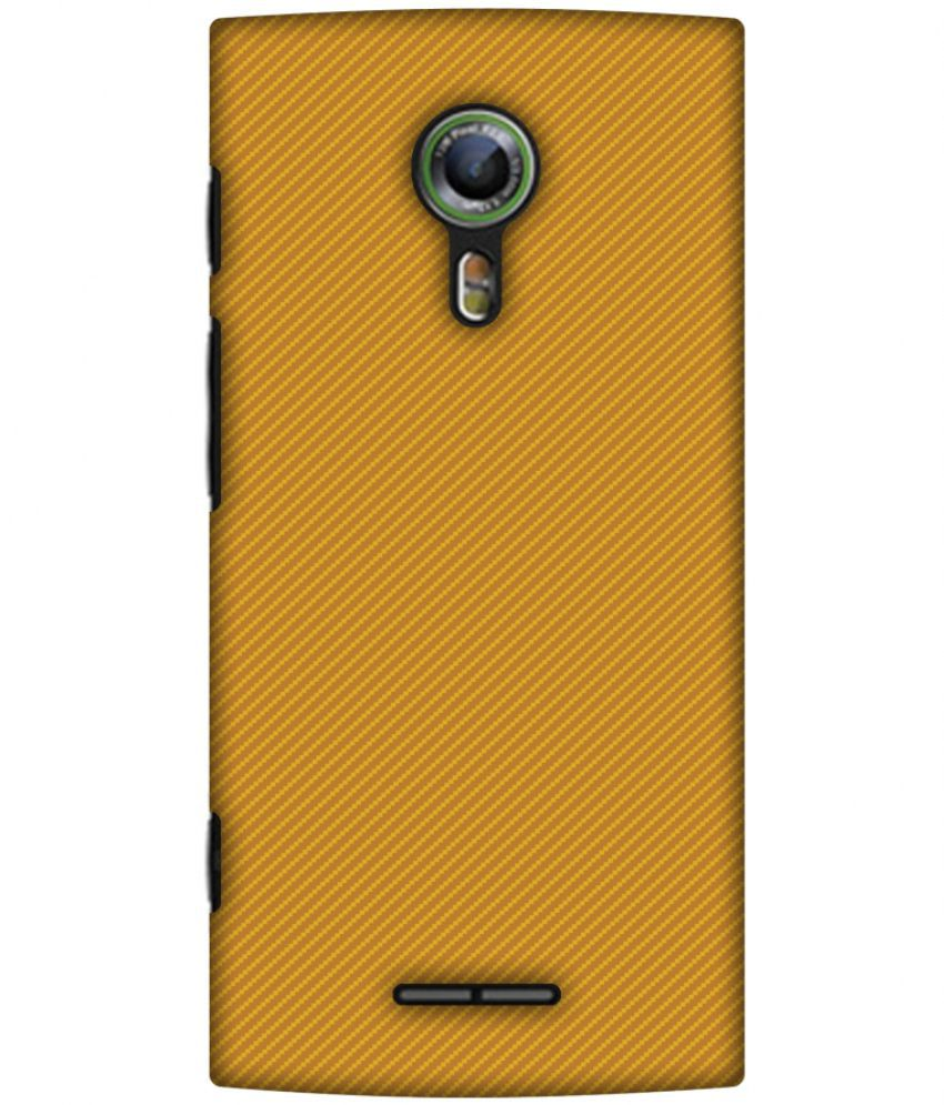 Alcatel Flash 2 Printed Cover By AMZER