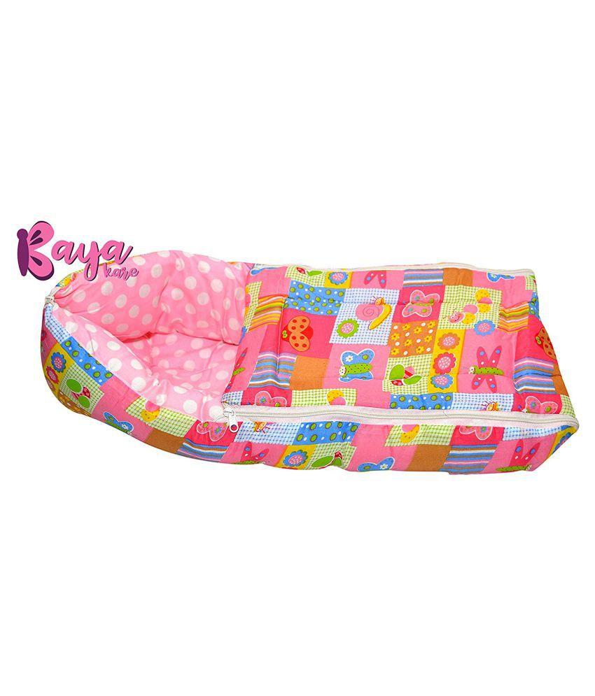Kayakare Pink Cotton Sleeping Bags ( 43 cm × 15 cm)