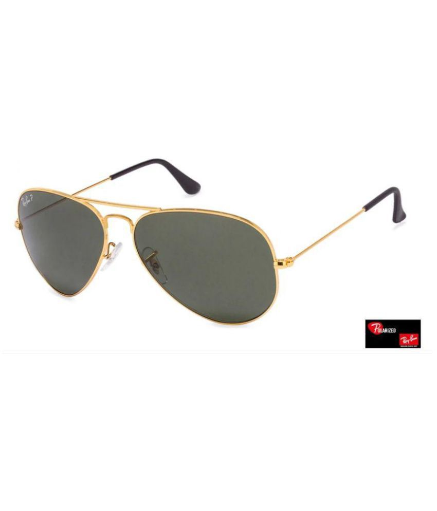 2a01c01df Ray Ban Sunglasses Green Aviator Sunglasses ( aviator black glass golden  frame ) - Buy Ray Ban Sunglasses Green Aviator Sunglasses ( aviator black  glass ...