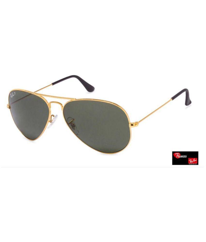 a12c2b22ba2d0 Ray Ban Sunglasses Green Aviator Sunglasses ( aviator black glass golden  frame ) - Buy Ray Ban Sunglasses Green Aviator Sunglasses ( aviator black  glass ...