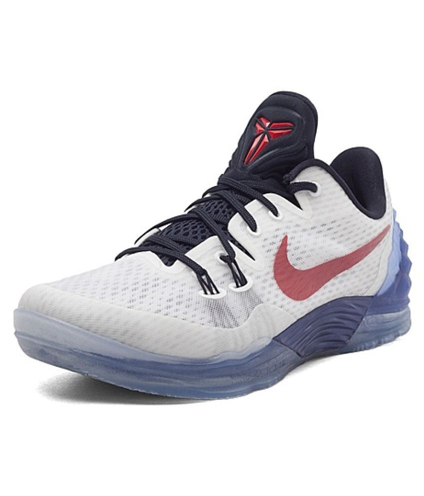 promo code dfc3e 075fb Nike Zoom Kobe Venomenon 5 EP Limit White Basketball Shoes - Buy Nike Zoom  Kobe Venomenon 5 EP Limit White Basketball Shoes Online at Best Prices in  India ...