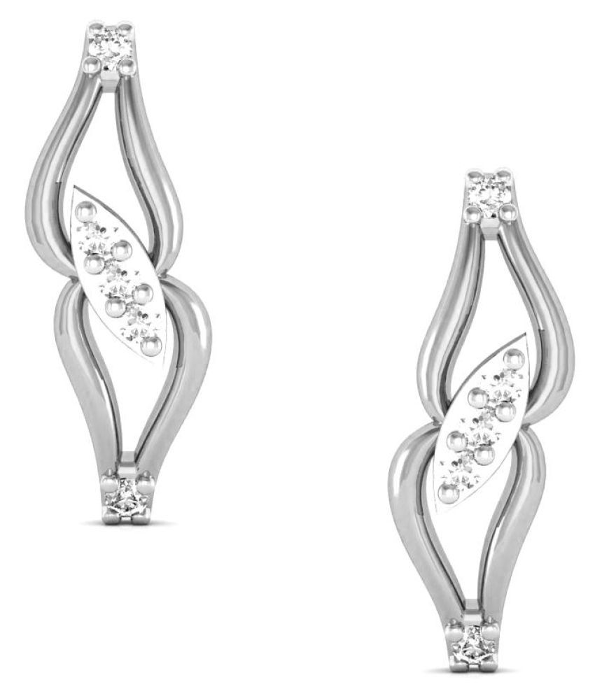Avsar 18k BIS Hallmarked Gold Diamond Studs