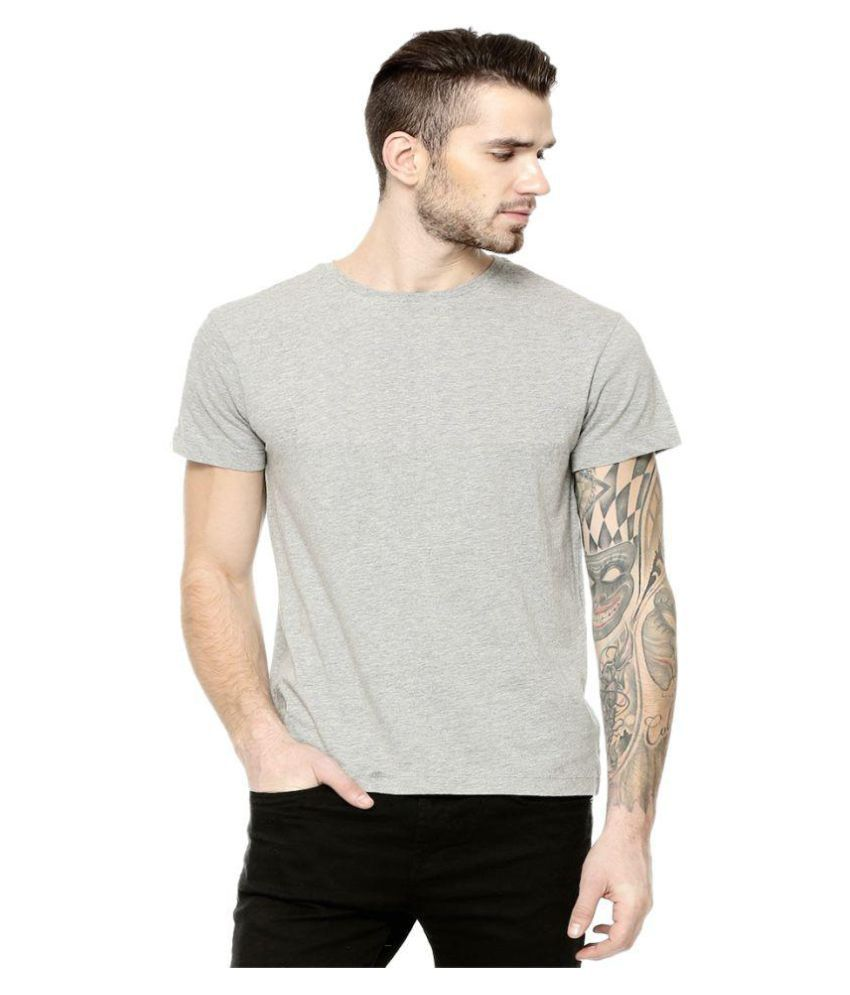 clafoutis Grey Hooded T-Shirt Pack of 1