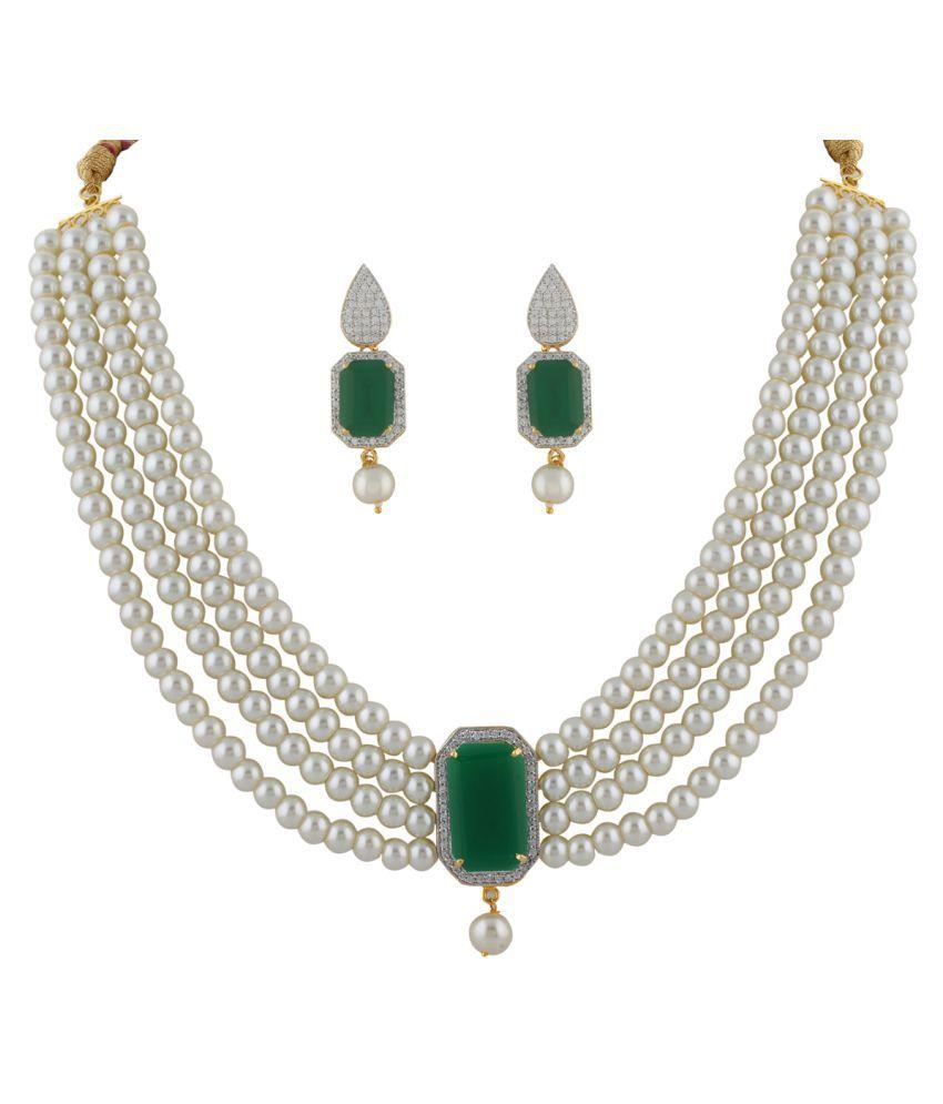 ClassiqueDesigner Cone Shape Pearl Set (cp1336)