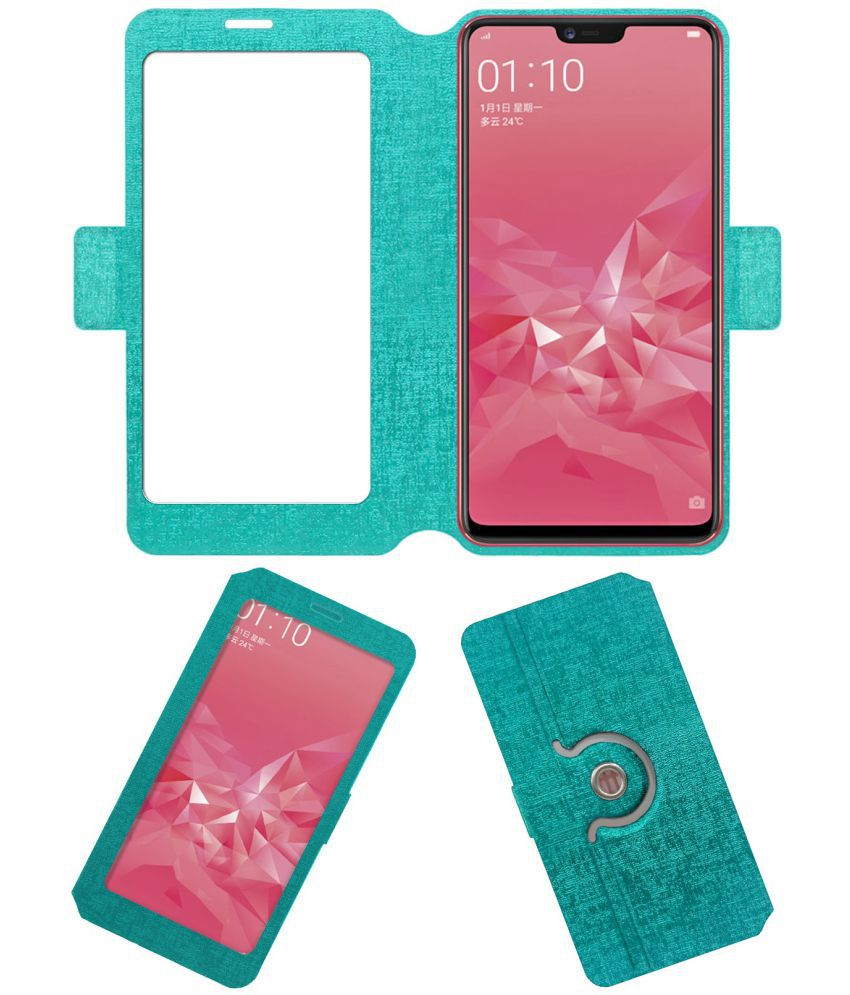 best service c5b43 c8440 OPPO A3 Flip Cover by ACM - Blue NA