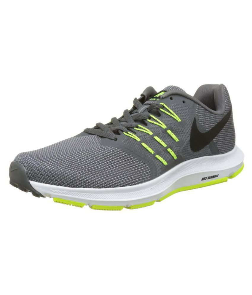 efd2fe9ee26 Nike 908989-007 Grey Running Shoes