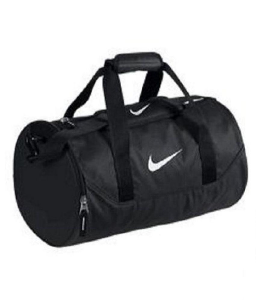 Nike Medium P.U. Gym Bag Travel Bag - Buy Nike Medium P.U. Gym Bag Travel  Bag Online at Low Price - Snapdeal 50d36b4953