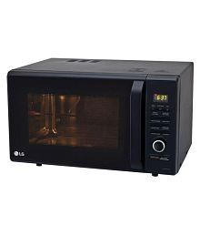 LG 27 to 32 Litres LTR MC2886BFUM Convection Microwave black