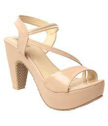 Feel It Cream Block Heels sale online shopping cheap best place rLhPc