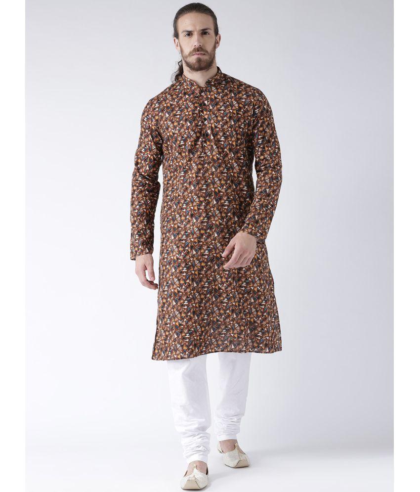 Deyann Multi Linen Kurta Pyjama Set